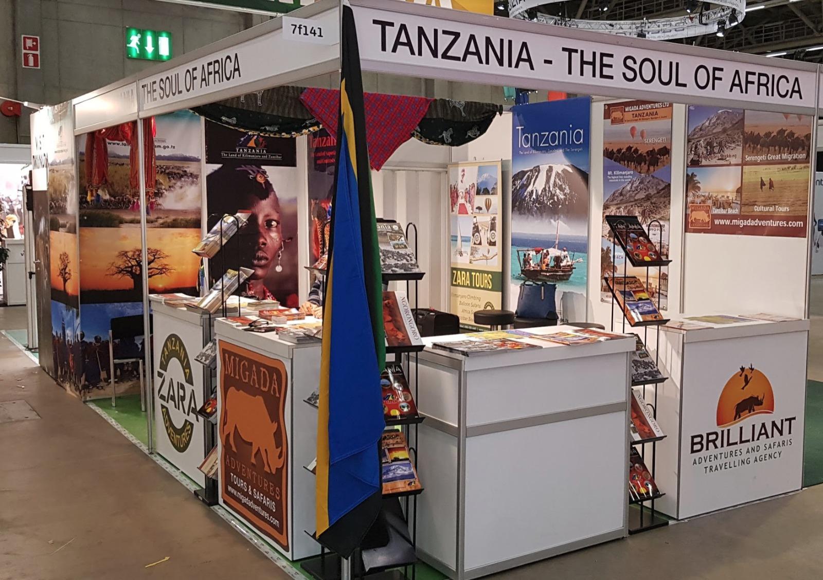 7F141 Tanzania Booth